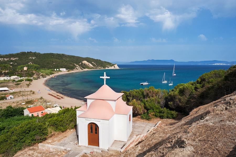Erikoussa Island in Greece.