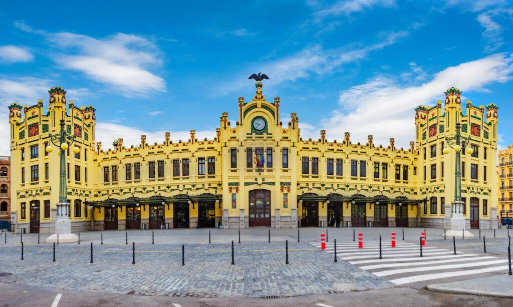 Estacion del Norte Station in Valencia.