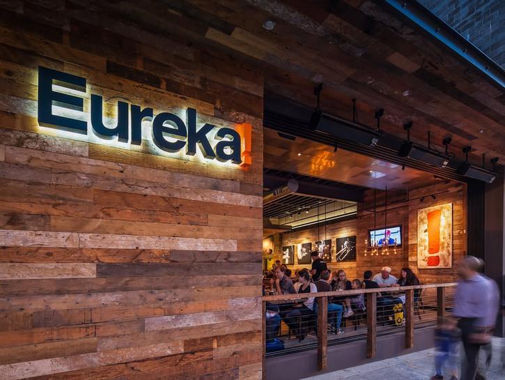 Eureka restaurant sign Las Vegas