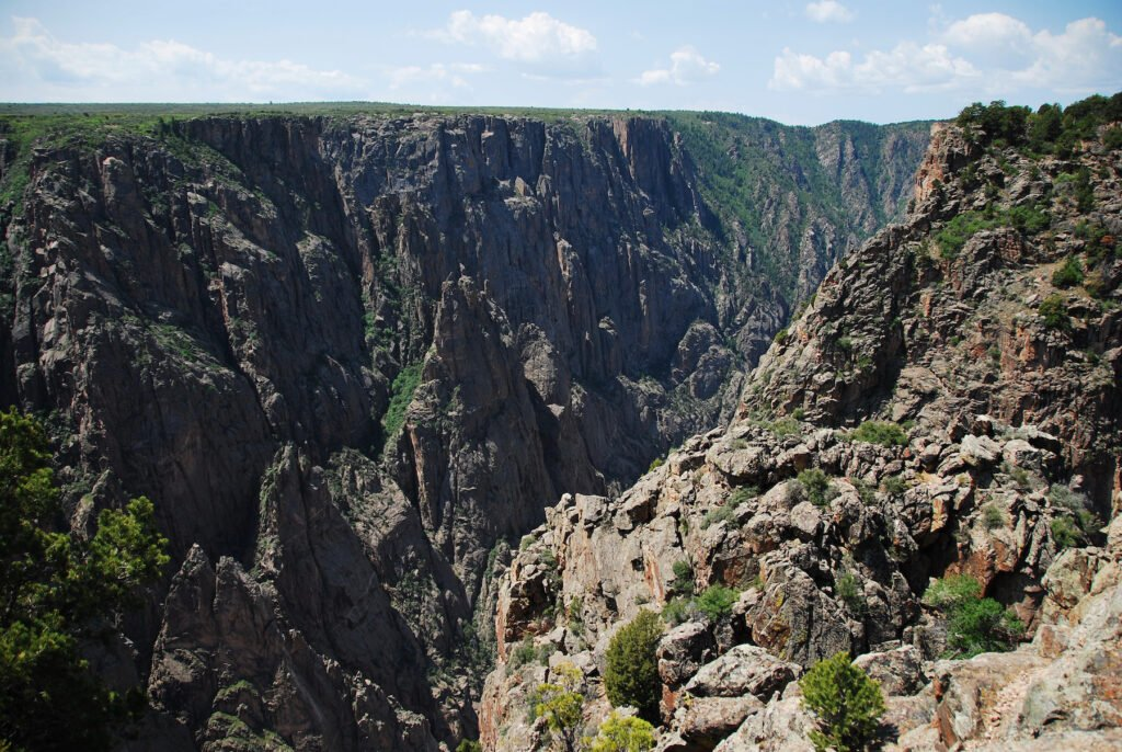 Exclamation Point in Gunnison National Park.