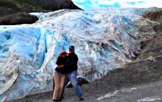 Exit Glacier in Seward.