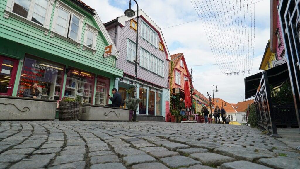 Exploring Stavanger, Norway.