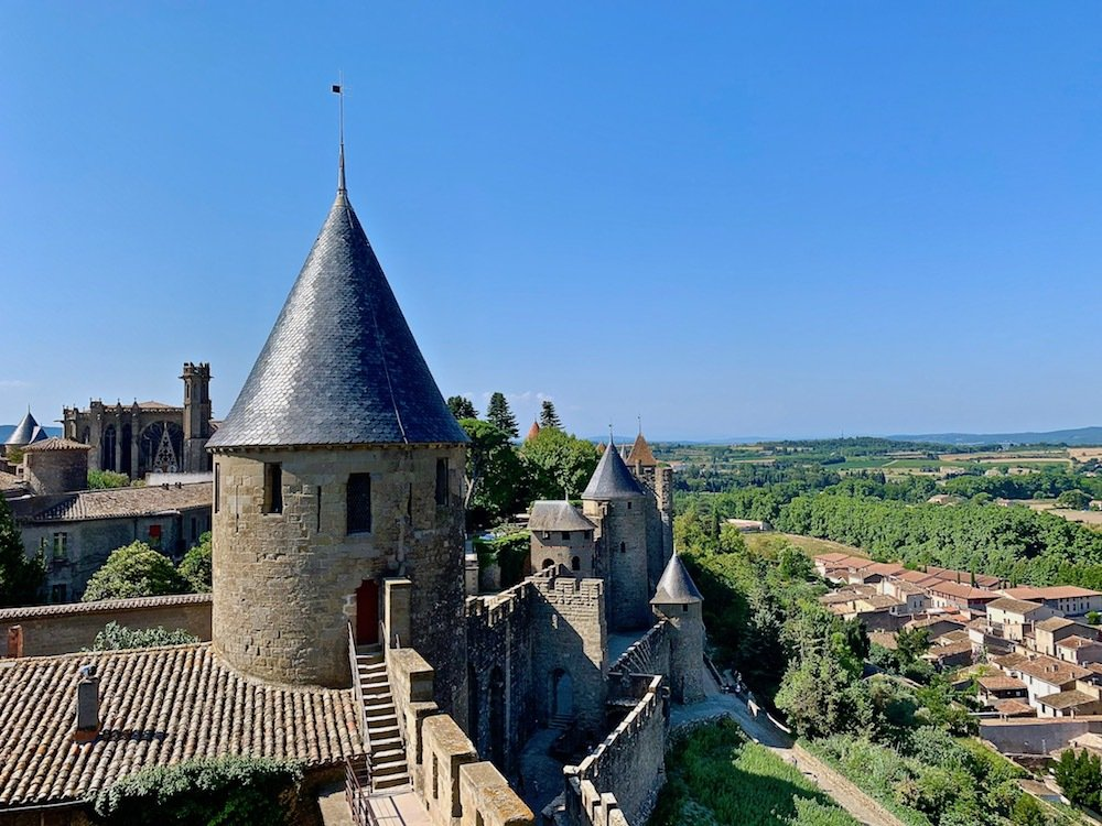 Exploring the city of Carcassonne, Francce.