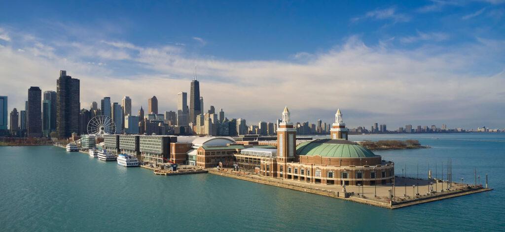 Exterior, Sable at Navy Pier Chicago.