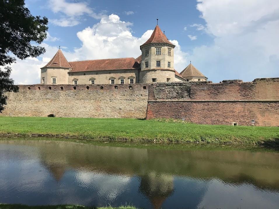 Fagaras Fortress in Transylvania.