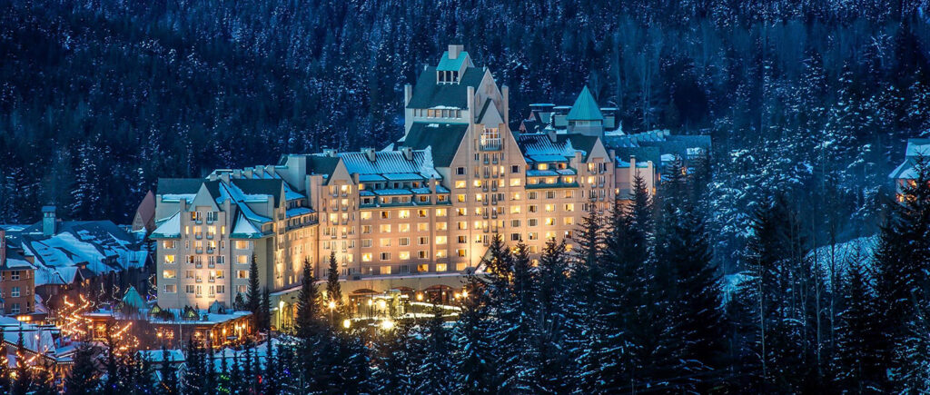 Fairmont Chateau Whistler in British Columbia, Canada.