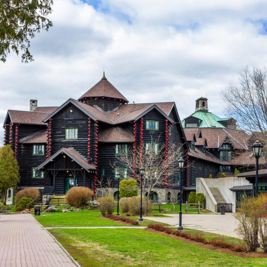 Fairmont Le Chateau Montebello in Quebec.