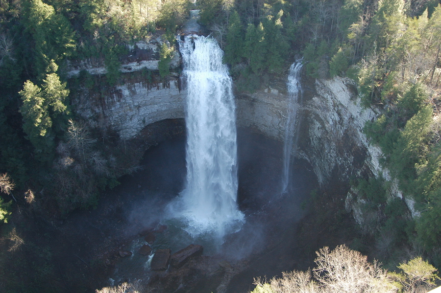 Fall Creek Falls in Spencer, Tennessee.