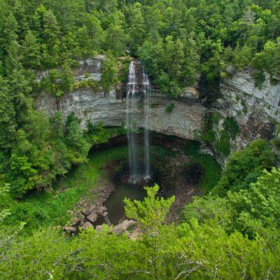 Fall Creek Falls in Tennessee.