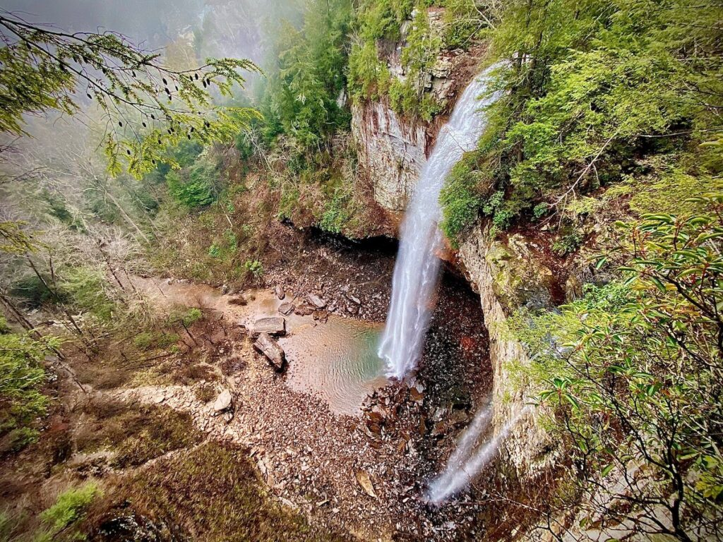 Fall Creek Falls State Park, Tennessee.