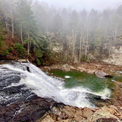 Fall Creek Falls, Tennessee state park.