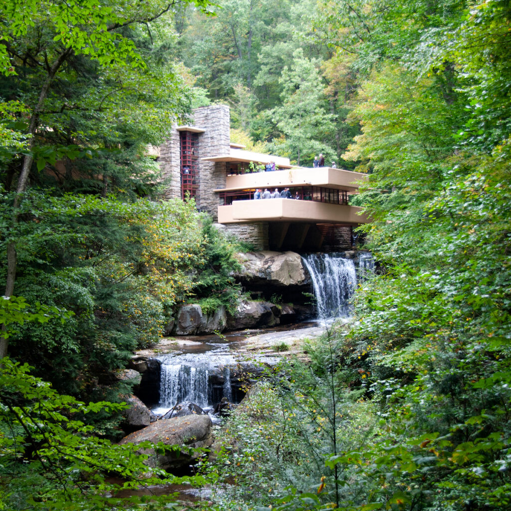 Fallingwater in Mill Run, Pennsylvania.