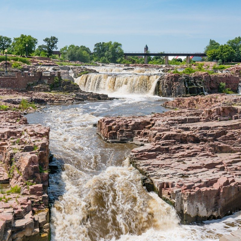 Falls Parks in Sioux Falls, South Dakota.