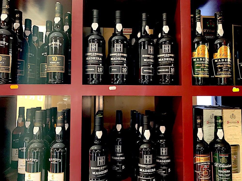 Famous Madeira wine.