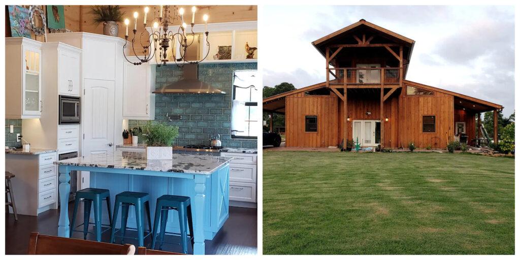 Farm Stay, a cabin rental in Hempstead, Texas.