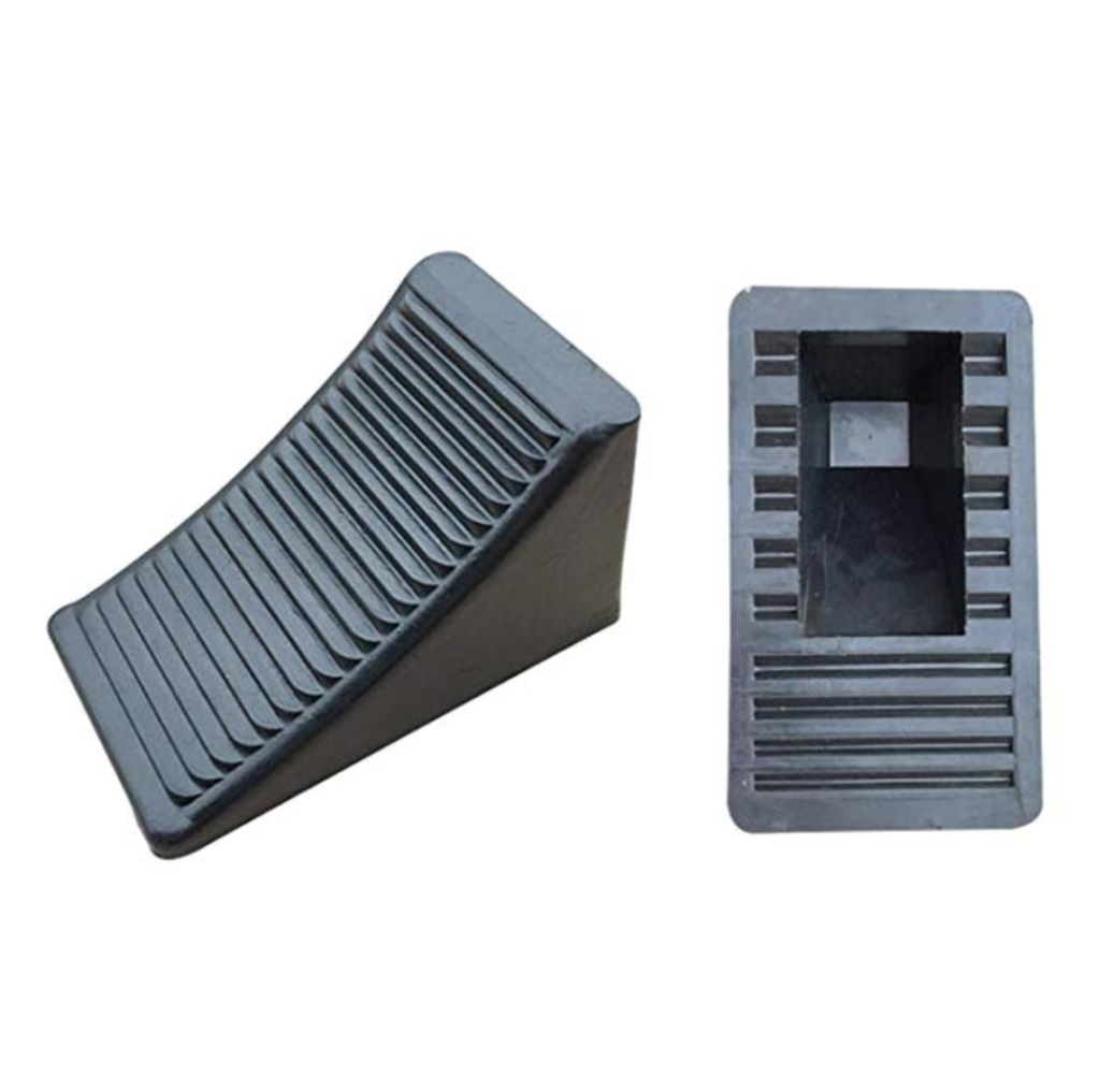 Fasmov Solid Rubber Heavy Duty Wheel Chocks.