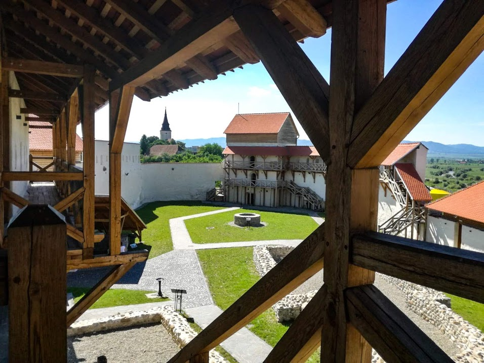 Feldioara Citadel in Transylvania.