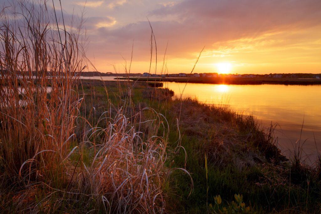Fenwick Island in Delaware.