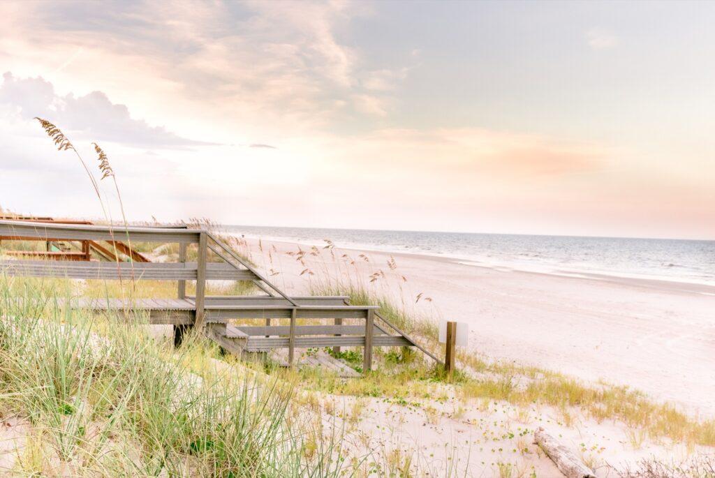 Fernandina Beach on Amelia Island.