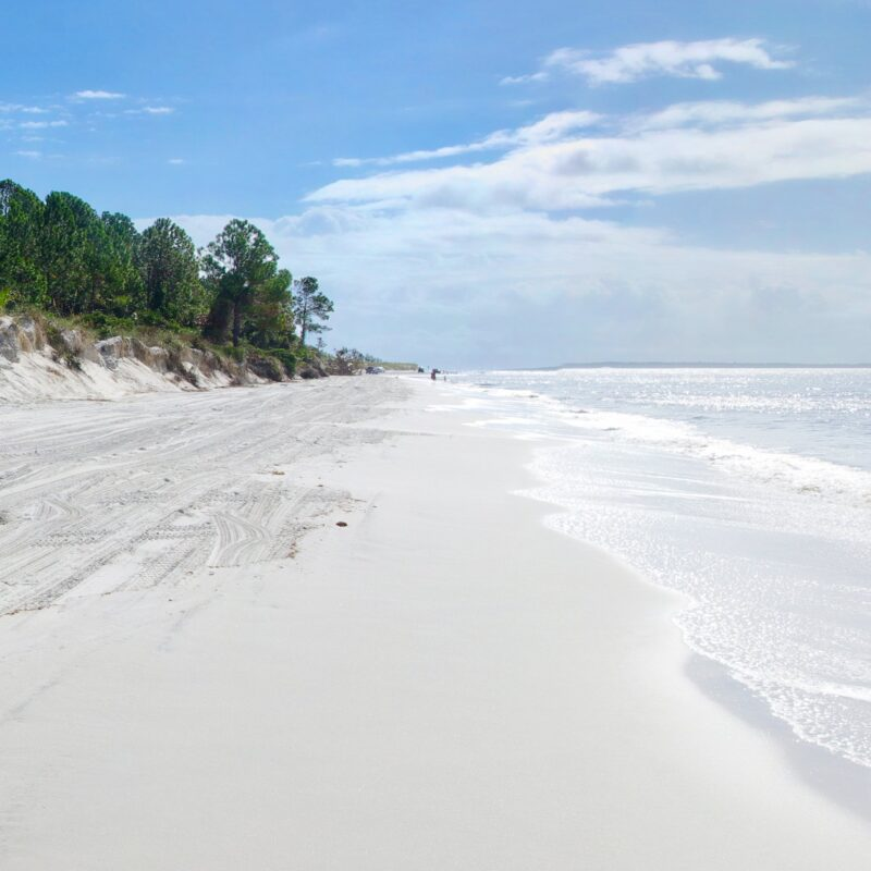 Fernandina Beach on Amelia Island in Florida.
