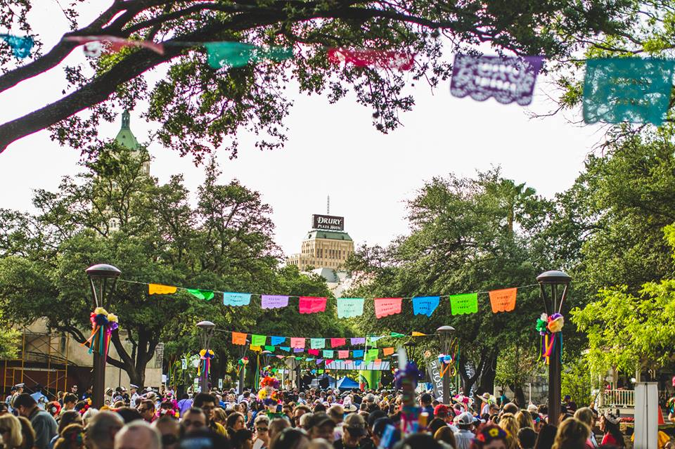 Fiesta San Antonio in Texas.