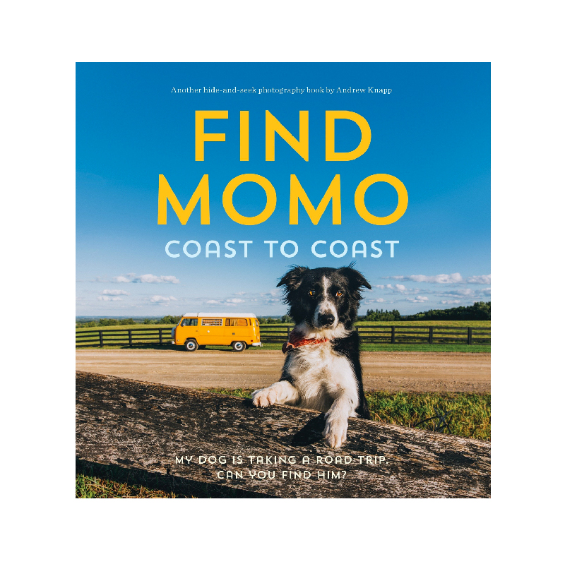 Find Momo Coast to Coast: A Photography Book.