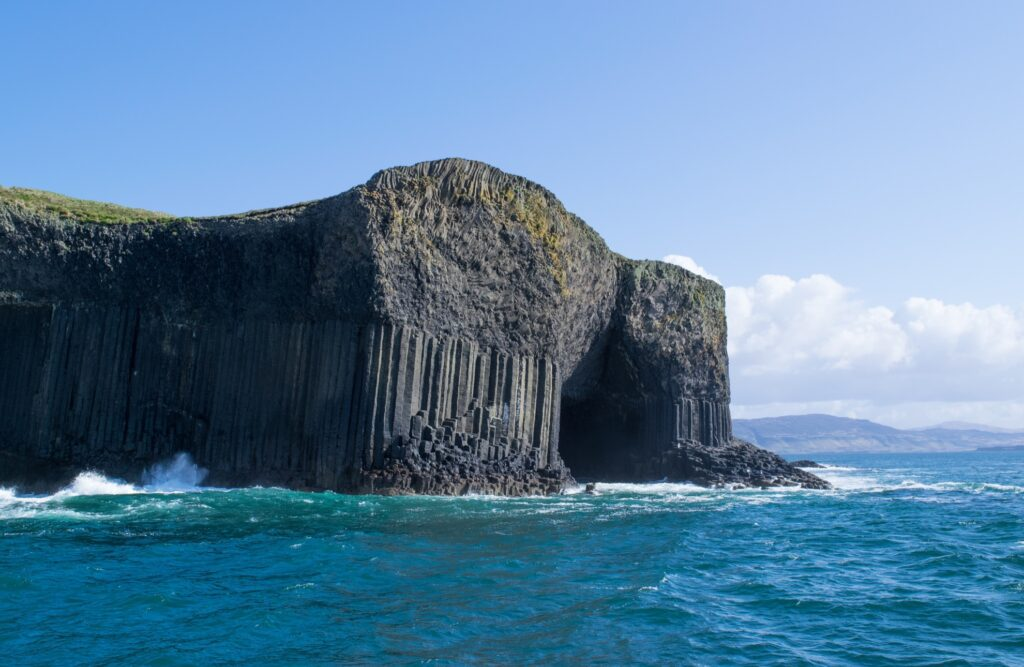 Fingal's Cave in Scotland.