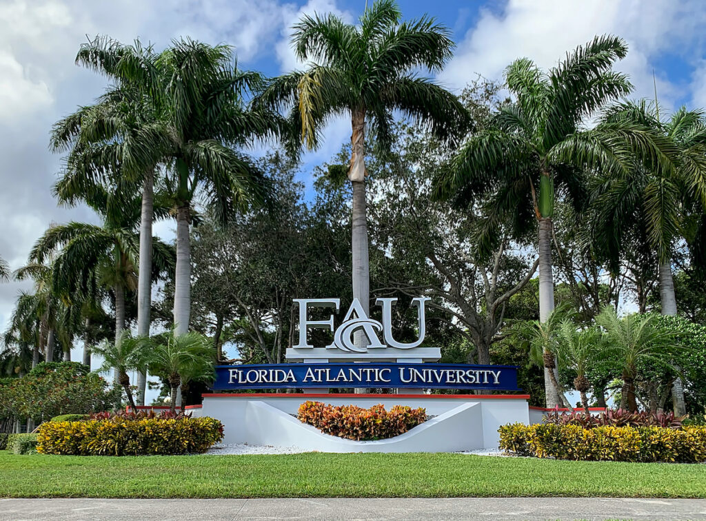 Florida Atlantic University, Boca Raton, Florida.