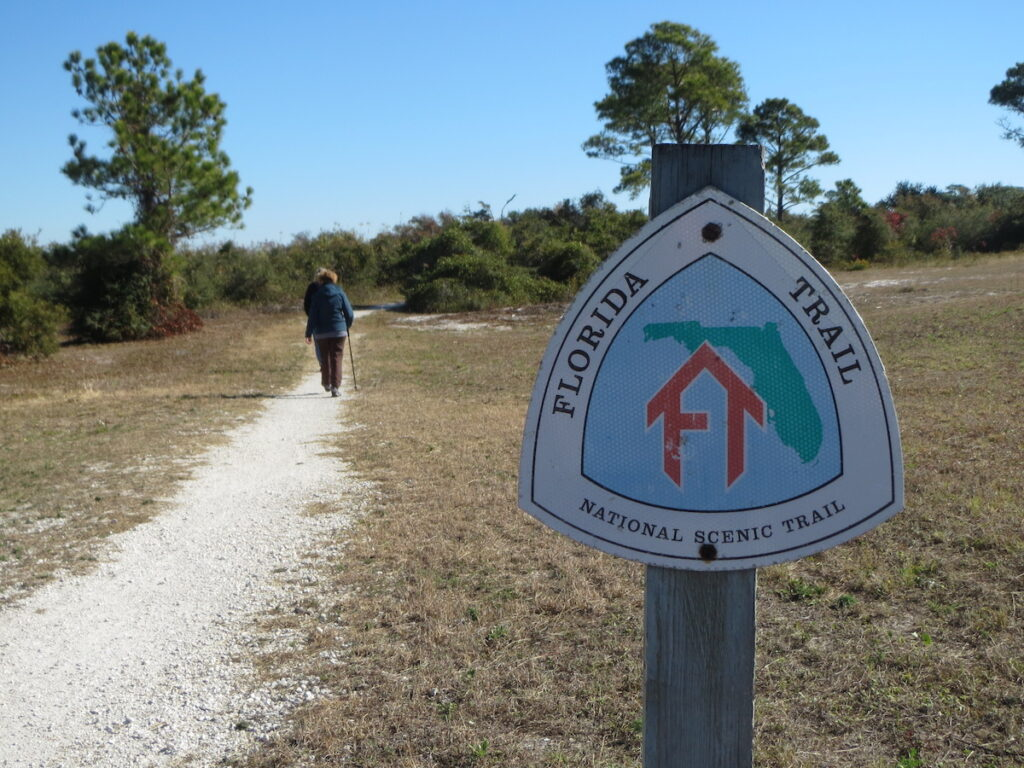 Florida Trail, a national scenic trail.