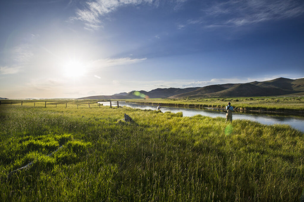Fly fishermen in Idaho's Sun Valley.