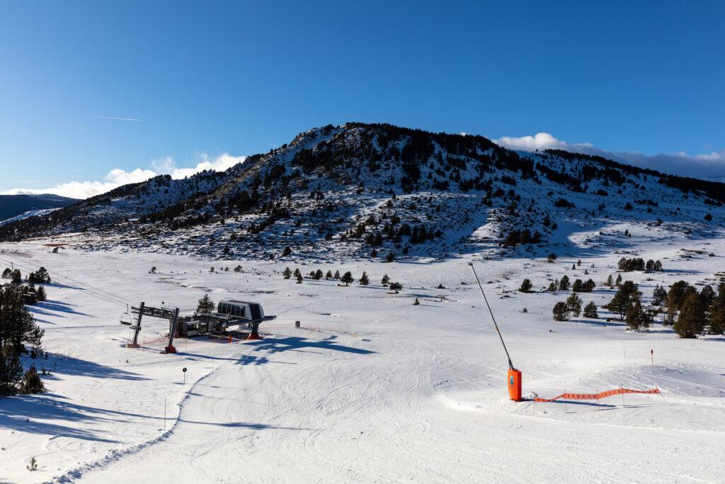 Font-Romeu, a ski resort in France.