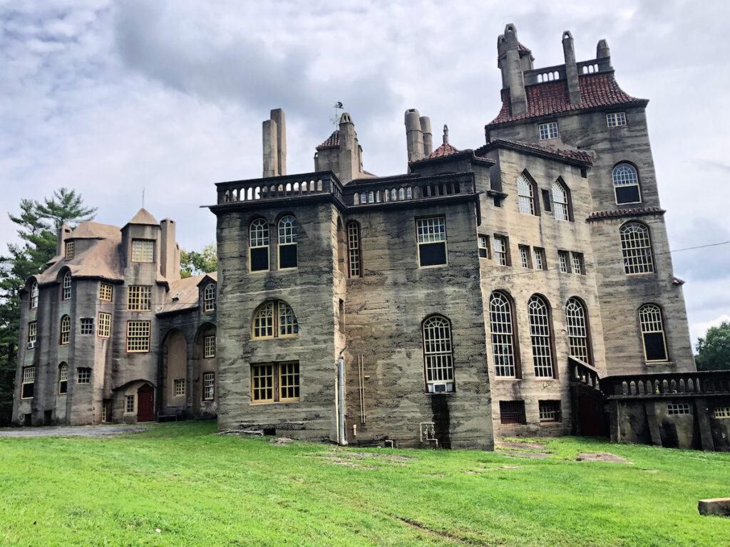 Fonthill Castle in Bucks County, Pennsylvania.