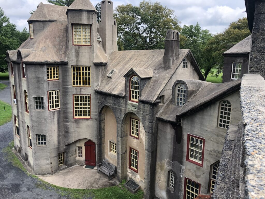 Fonthill Castle in Doylestown, Pennsylvania.