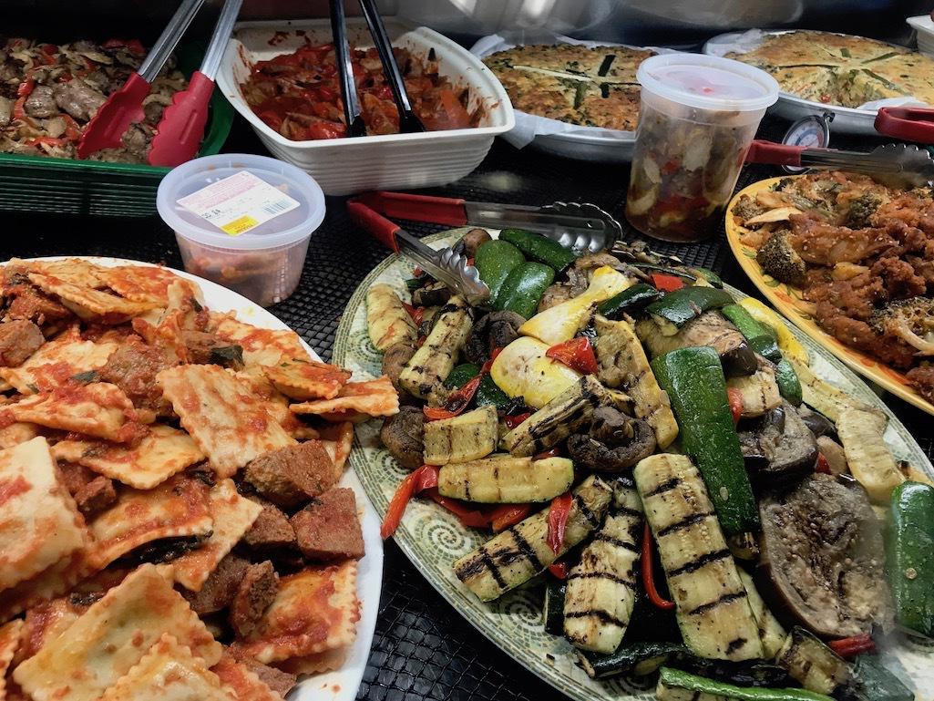Food from Constantino's Venda Bar and Ristorante.