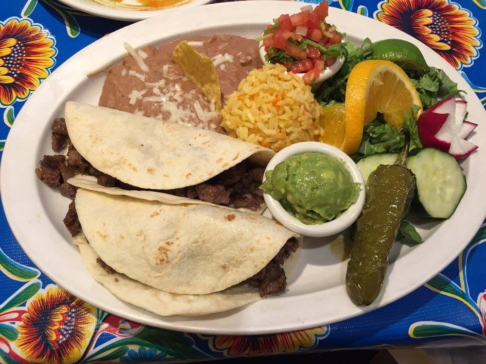 Food from Miguel's Baja Grill.