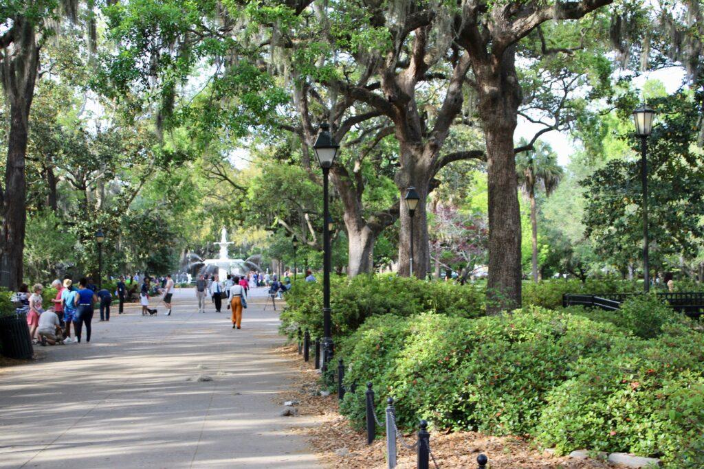 Forsyth Park in Savannah, Georgia.