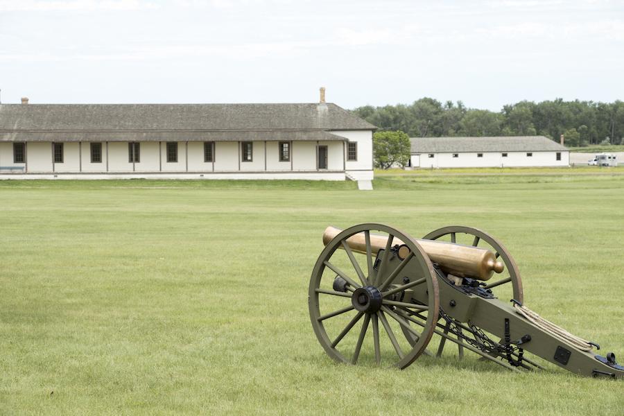 Fort Abraham Lincoln State Park in North Dakota.