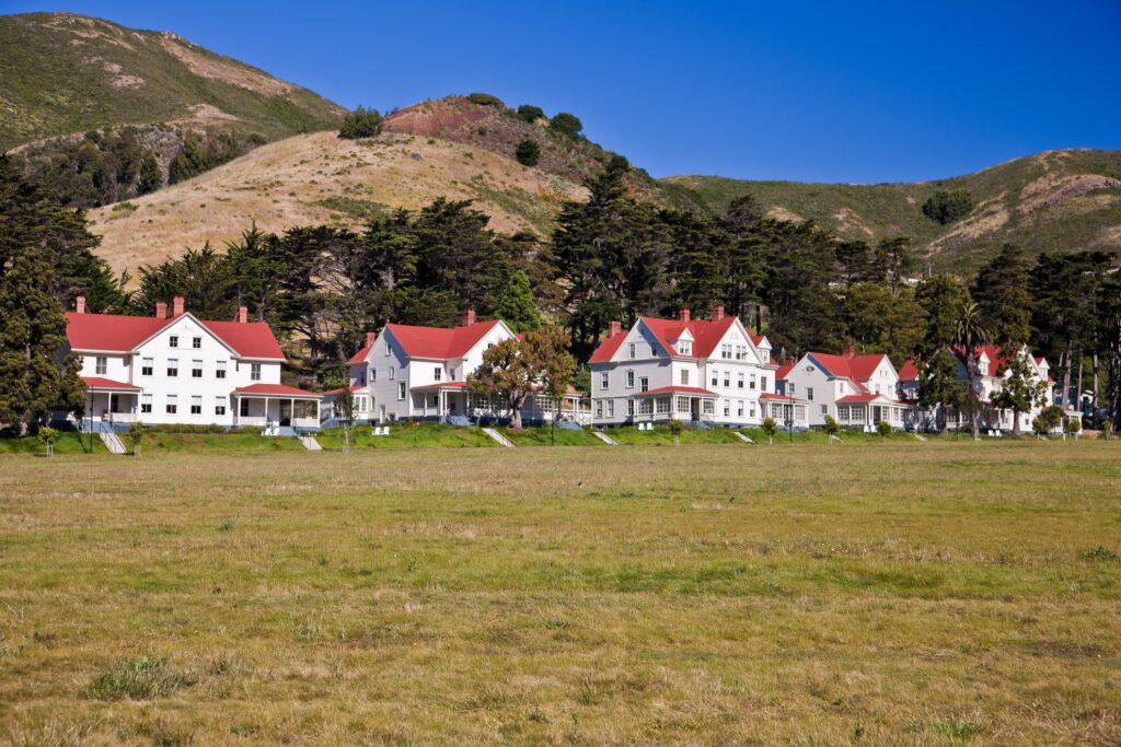 Fort Baker in the Marin Headlands.