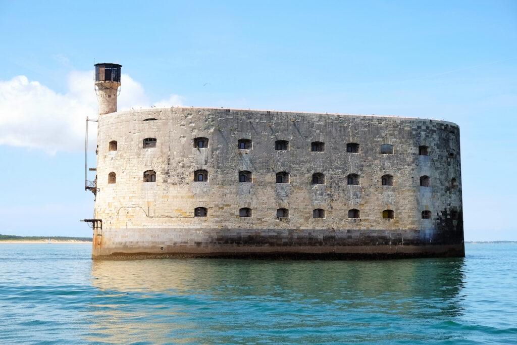 Fort Boyard off the coast of France.