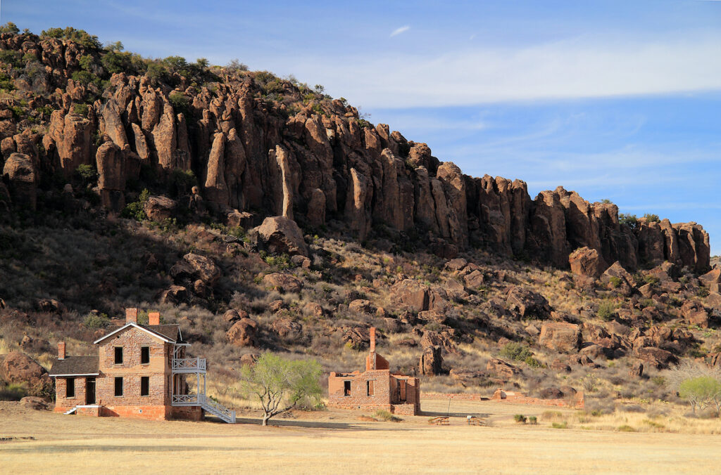 Fort Davis National Historic Site in Texas.