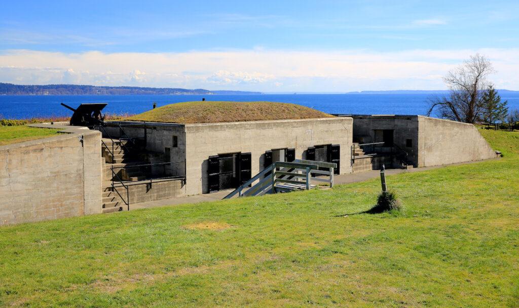 Fort Flagler State Park overlooking Puget Sound.