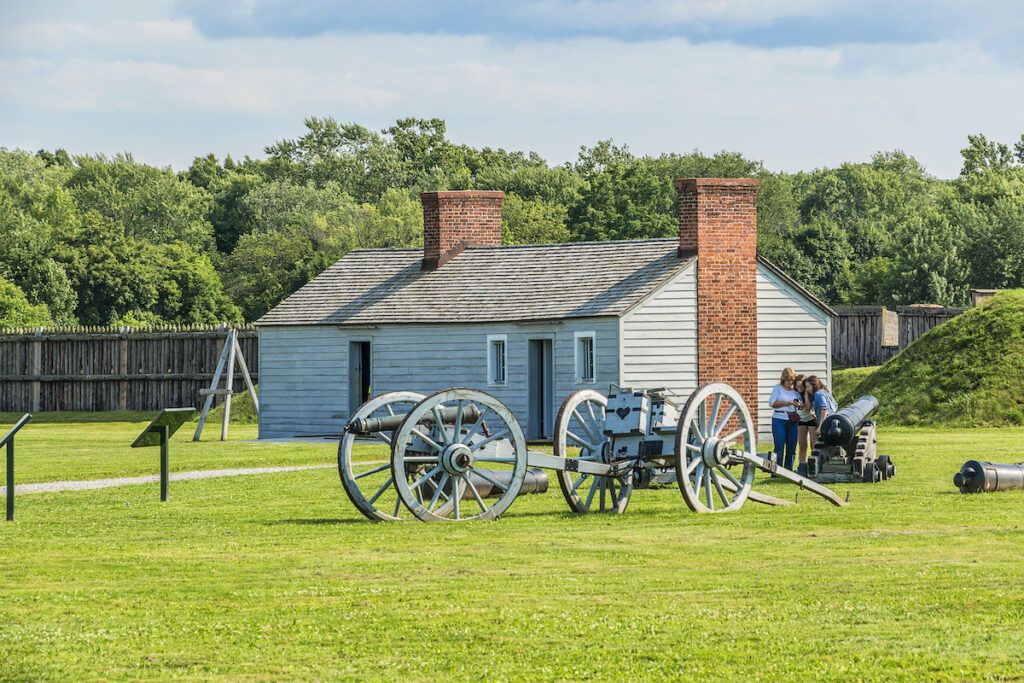 Fort George National Historic Site in Niagara-On-The-Lake.