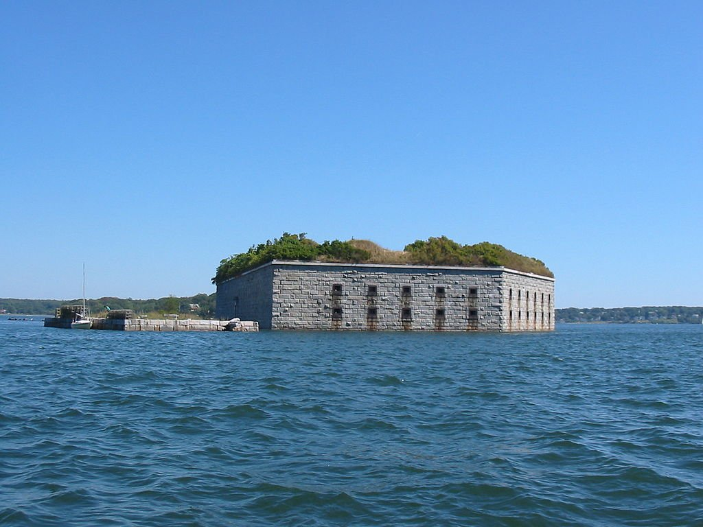 Fort Gorges in Portland.