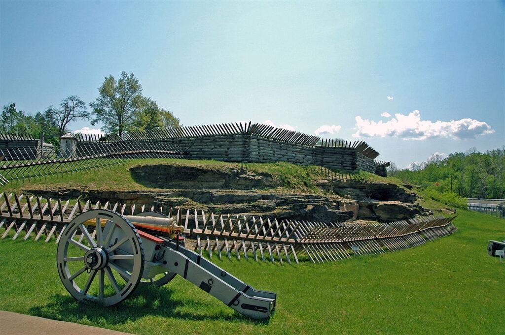 Fort Ligonier in the Laurel Highlands of Pennsylvania.