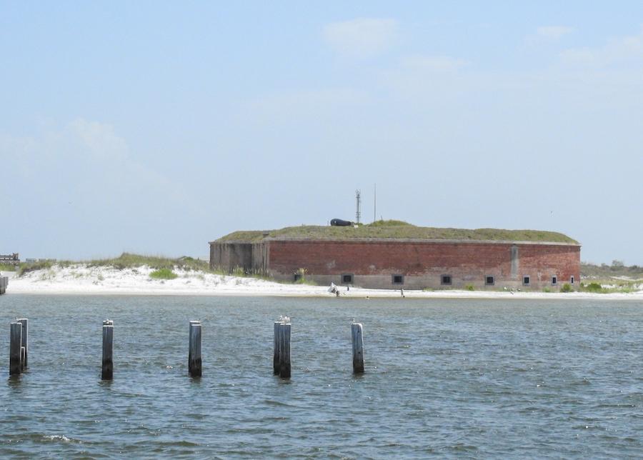 Fort Massachusetts on Ship Island.
