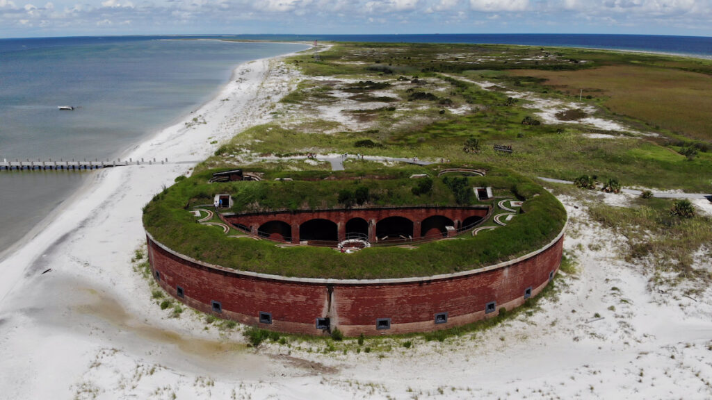Fort Massachusetts on Ship Island.