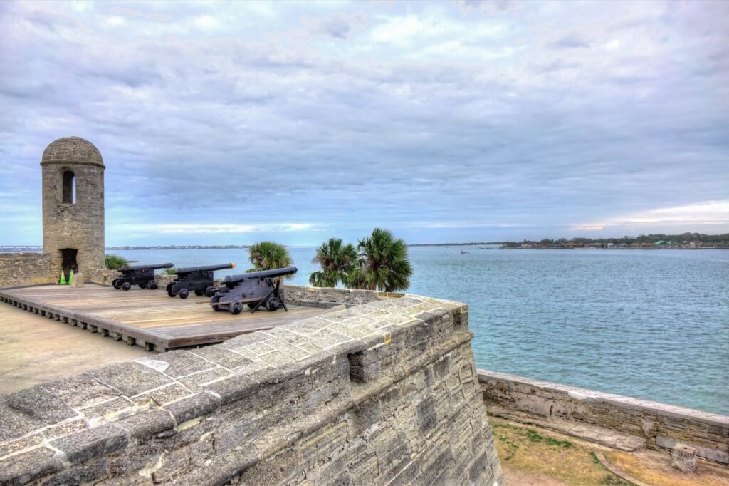 Fort Matanzas National Monument in Florida.