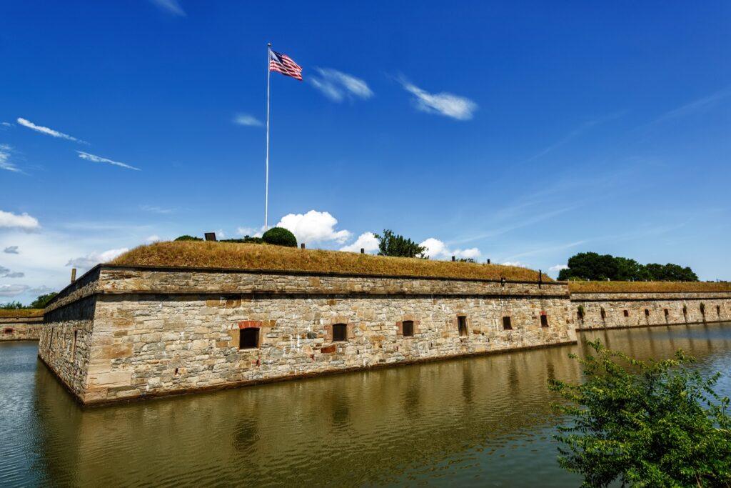 Fort Monroe in Hampton, Virginia.
