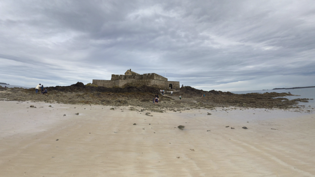 Fort National on the island of Petit Be.