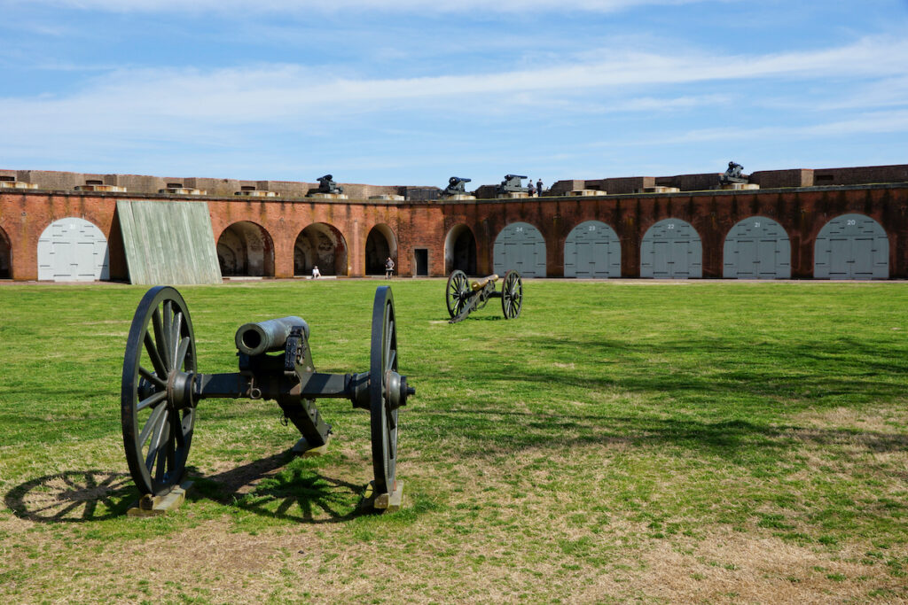 Fort Pulaski National Monument in Georgia.
